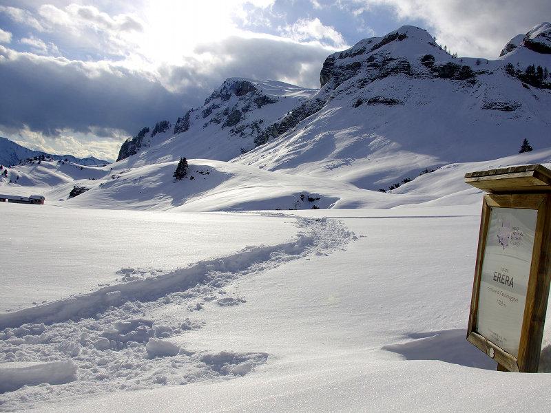 Le giornate dello sport: sulla neve con le ciaspe