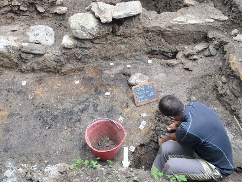 D6 - Campagne di scavo archeometallurgico in Alta Valle del Mis-Pian delle Loppe (Gosaldo, BL) (2012-2017)