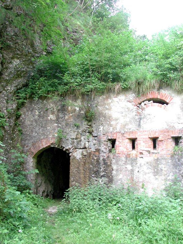 I Castei: il Forte del Sass de San Martìn