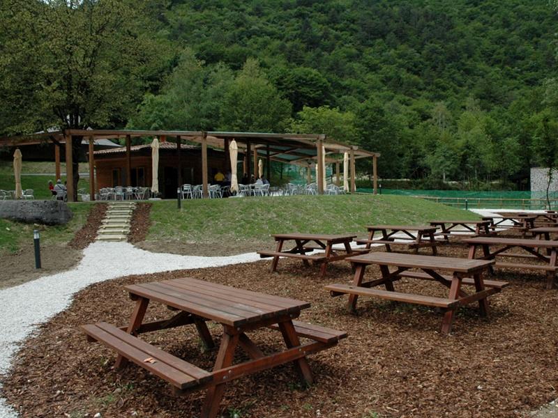 Aire de restauration, camping-cars et Point d'information Pian Falcina