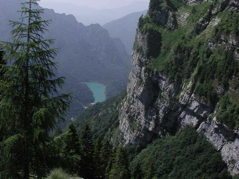 The Trail of the Caserin (Sass de Mura)
