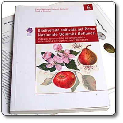 Studi e Ricerche 6: Biodiversità coltivata nel Parco Nazionale Dolomiti Bellunesi