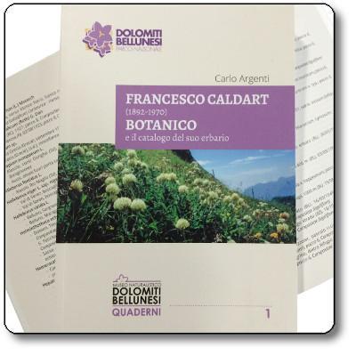 Francesco Caldart - Botanico e il catalogo del suo erbario