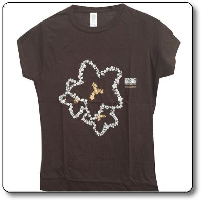 T-shirt donna colore marrone scuro - Parco Nazionale Dolomiti Bellunesi
