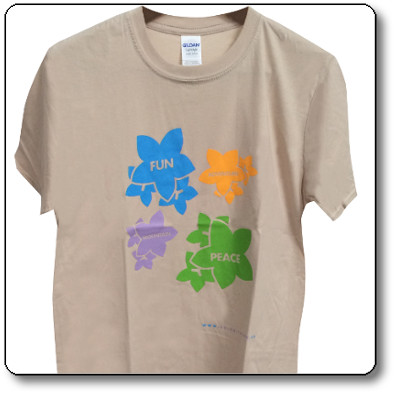 T-shirt unisex colore Beige - Parco Nazionale Dolomiti Bellunesi