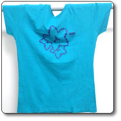 T-shirt donna colore azzurro - Parco Nazionale Dolomiti Bellunesi