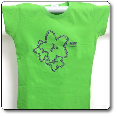 T-shirt donna colore verde - Parco Nazionale Dolomiti Bellunesi