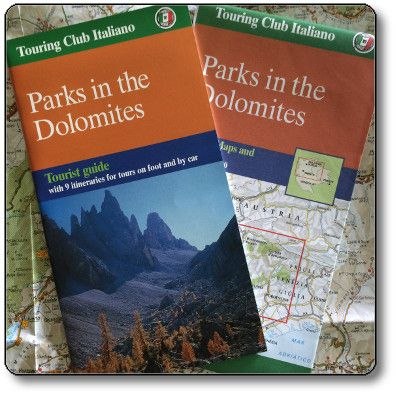 Parks in the Dolomites - Nature Maps and Tourist Guide