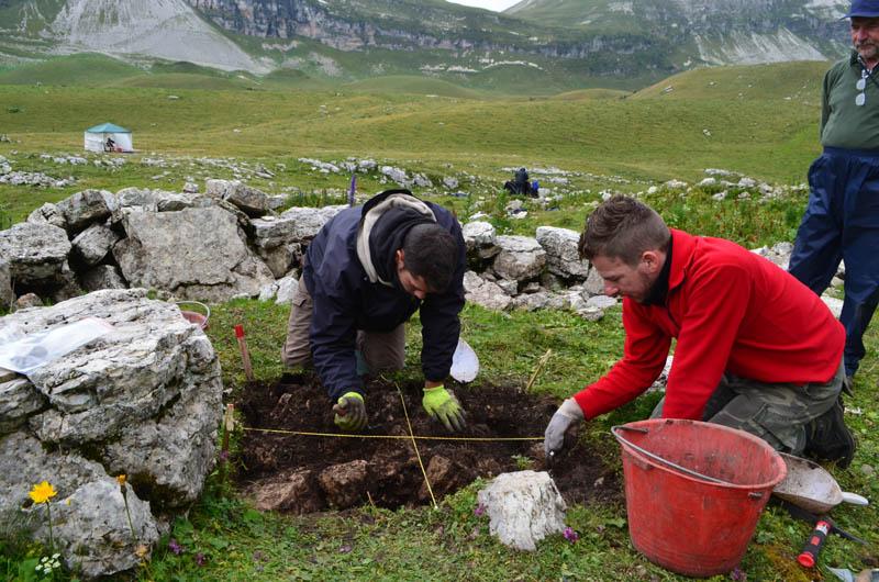 Archeologia di montagna in Busa delle Vette