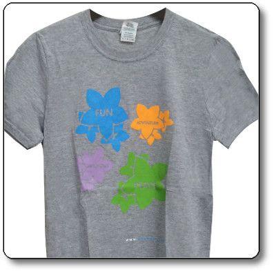 T-shirt unisex colore Grigio chiaro - Parco Nazionale Dolomiti Bellunesi