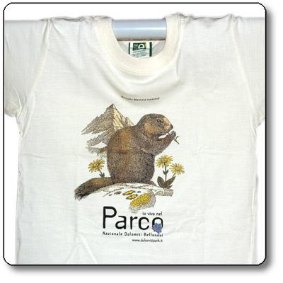 T-Shirt Marmotta cotone equosolidale (Junior)